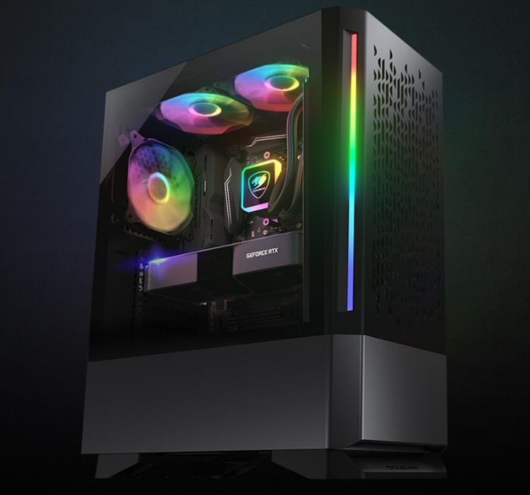 Cougar представила корпус MX430 Air RGB с эффектным дизайном