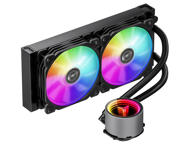 Jonsbo представила системы жидкостного охлаждения Shadow ARGB Ver 2.0 с подсветкой
