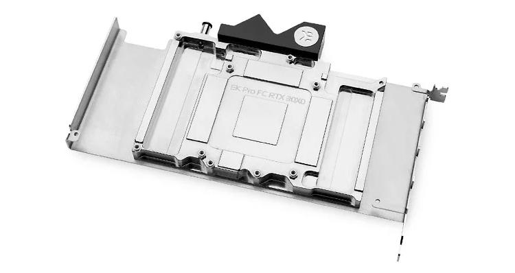 EK представила новый водоблок для видеокарт GeForce RTX 30 Series