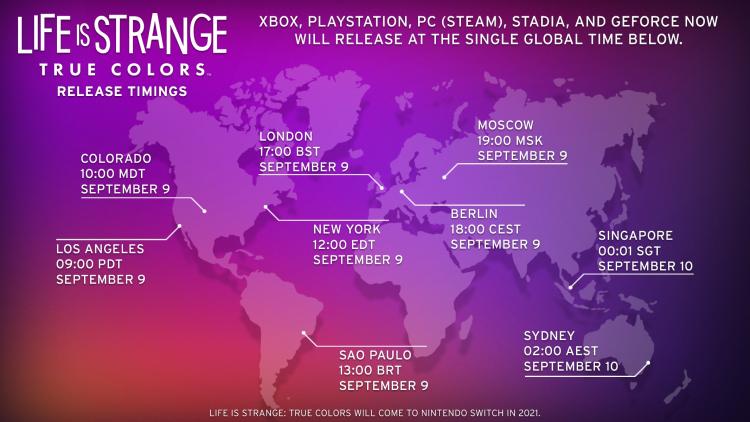 Life is Strange: True Colors станет доступна в России даже до официальной даты выхода