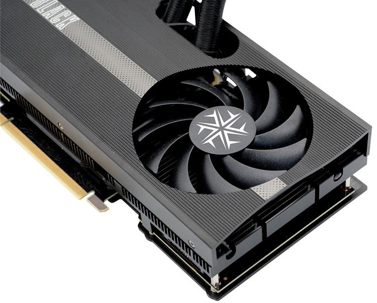 Представлены видеокарты Inno3D GeForce RTX 3080Ti/3080 iChill Black с гибридным кулером