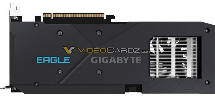 Видеокарта Radeon RX 6600 без суффикса XT в исполнении Gigabyte показалась на изображениях
