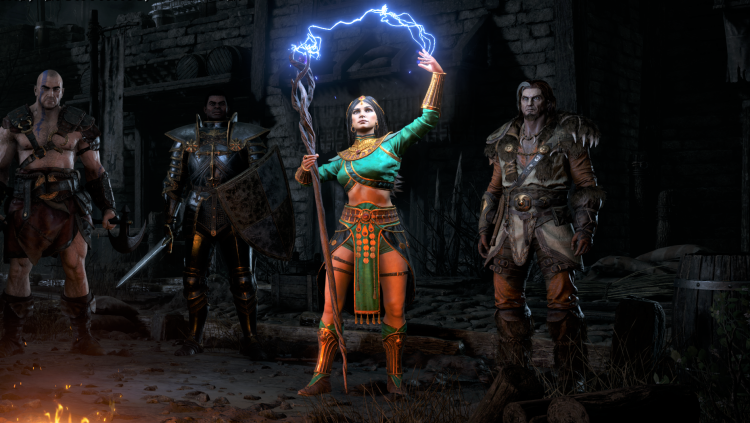 Амазонка, варвар, паладин и волшебница: появились трейлеры героев Diablo II: Resurrected