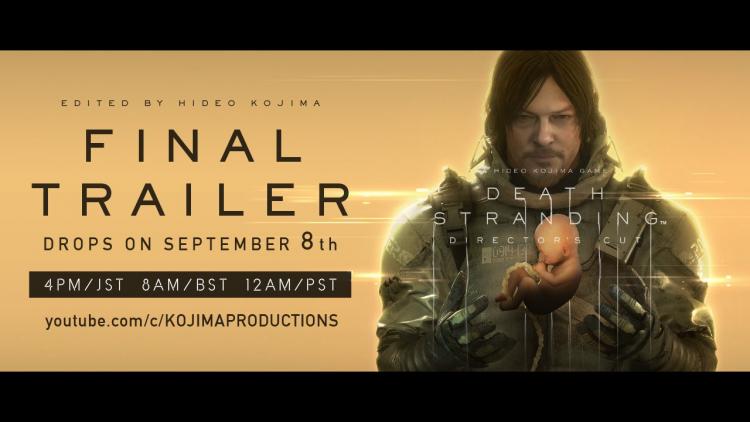 Премьеру финального трейлера Death Stranding Director's Cut назначили на 8 сентября