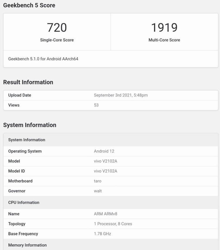 Флагманский процессор Qualcomm Snapdragon 898 отметился в Geekbench1