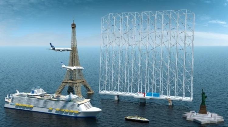 Плавучий многотурбинный ветрогенератор Wind Catching Systems обеспечит энергией до 100 тыс. домовладений1