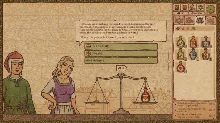 Ранний доступ к симулятору алхимика Potion Craft откроется 21 сентября