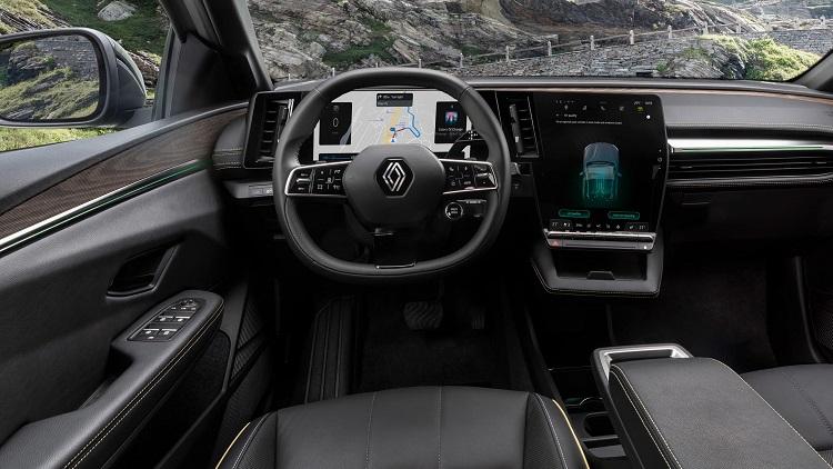 Renault представила полностью электрический хэтчбек Megane E-Tech Electric