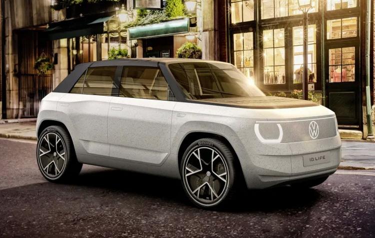 Volkswagen выпустит в 2025 году компактный электрический кроссовер ID. Life стоимостью от 20 тыс. евро