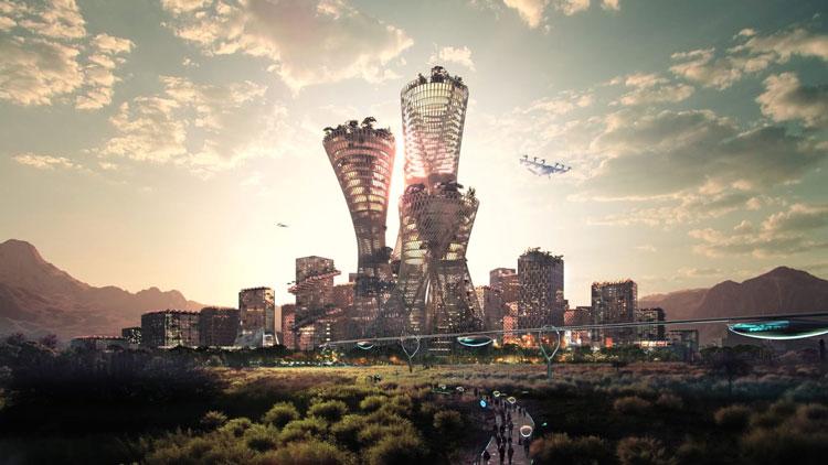 Город Телоса в представлении архитекторов. Источник изображения: Bjarke Ingels Group