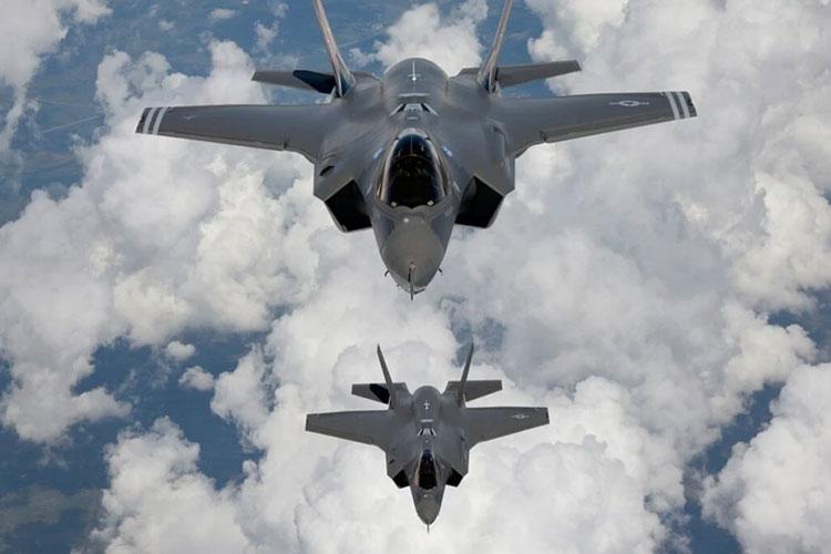 Малозаметные американские истребители F-35. Источник изображения: Xinhua