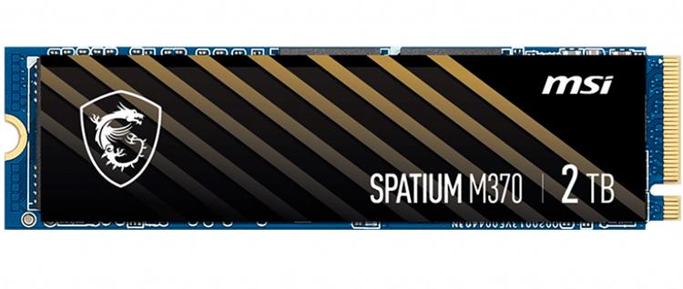 MSI SPATIUM M370 – первый твердотельный накопитель компании MSI уже в продаже