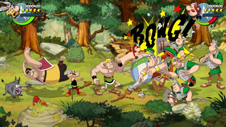 Французское издательство Microids заключило контракт на выпуск ещё трёх игр в серии Asterix & Obelix