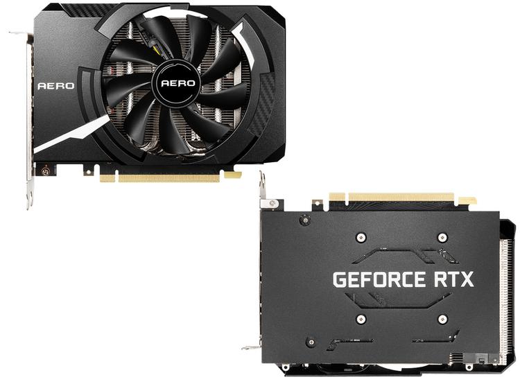 MSI выпустила компактную версию GeForce RTX 3060 Ti Aero для небольших игровых систем