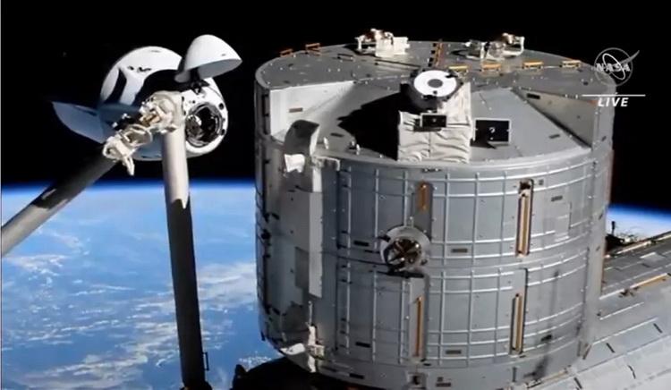 Источник изображения: NASA TV