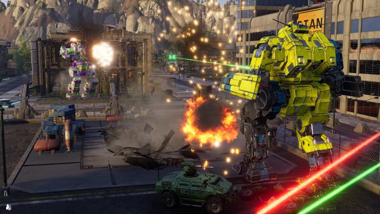 Экшен MechWarrior 5: Mercenaries доберётся до консолей PlayStation в этом месяце