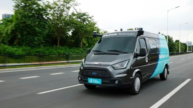 Китайская WeRide разработала небольшой автономный фургон Robovan для городских доставок