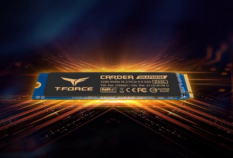 TeamGroup представила недорогие PCIe 4.0 SSD T-Force Cardea Z44L и внешние SSD T-Create Classic