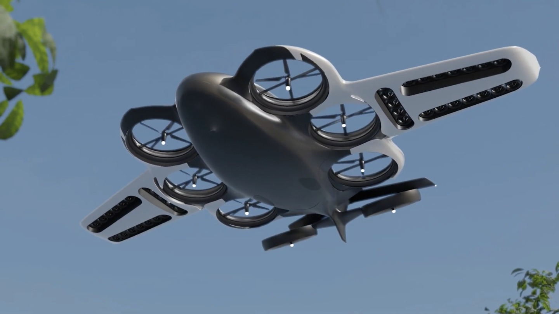 Paragon разрабатывает аэротакси на водородном ДВС с запасом хода до 1500 километров