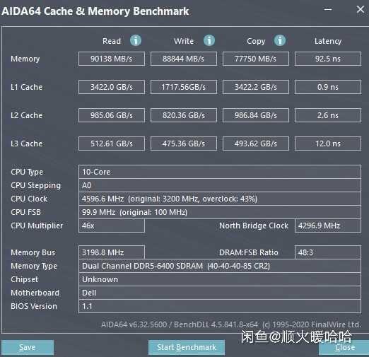 Инженерный образец Alder Lake-S протестировали с памятью DDR5-6400
