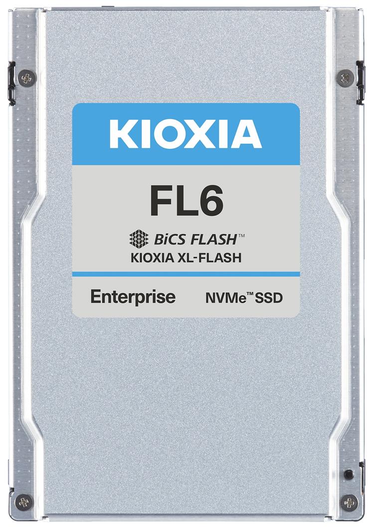 Kioxia выпустила твердотельные накопители FL6 ёмкостью до 3,2 Тбайт