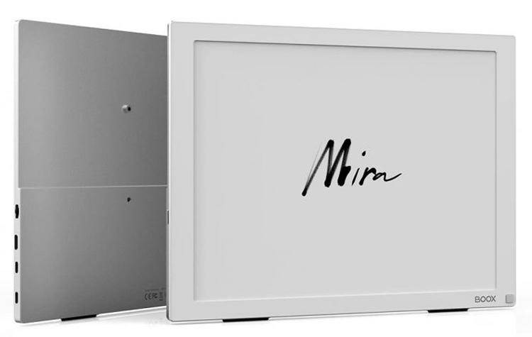 Onyx представила портативный монитор Boox Mira на электронной бумаге с высоким разрешением и ценой $800