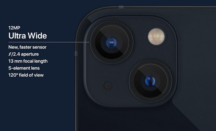 Apple представила iPhone 13 и iPhone 13 mini— уменьшенная «чёлка» и улучшенная камера3