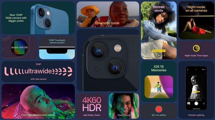 Apple представила iPhone 13 и iPhone 13 mini— уменьшенная «чёлка» и улучшенная камера4