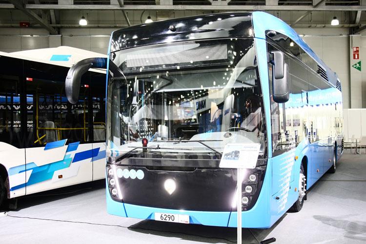 КАМАЗ раскрыл характеристики своего водоробуса, который выйдет на улицы Москвы в 2022 году