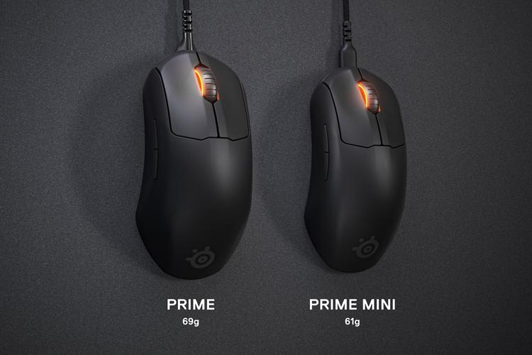 """SteelSeries представила мышь Prime Mini в проводной и беспроводной версиях"""""""