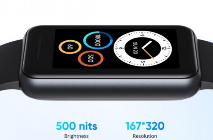 Представлен фитнес-браслет Realme Band 2 с большим экраном и датчиком кислорода в крови1