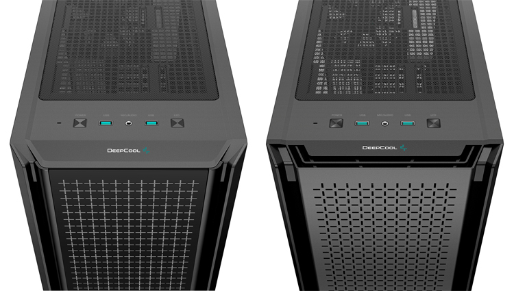 DeepCool представила корпуса CG540 и CG560 с тремя ARGB-вентиляторами