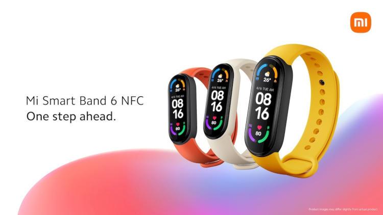 Xiaomi представила международную версию Mi Band 6 с поддержкой NFC  в России он тоже выйдет