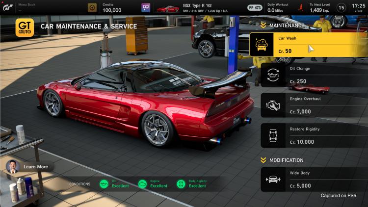 В Gran Turismo 7 вернётся тюнинг автомобилей
