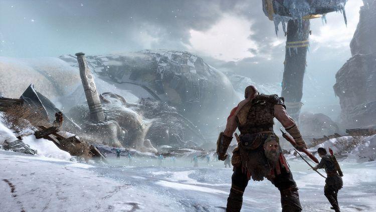 God of War (2018). Источник изображения: playstation.com