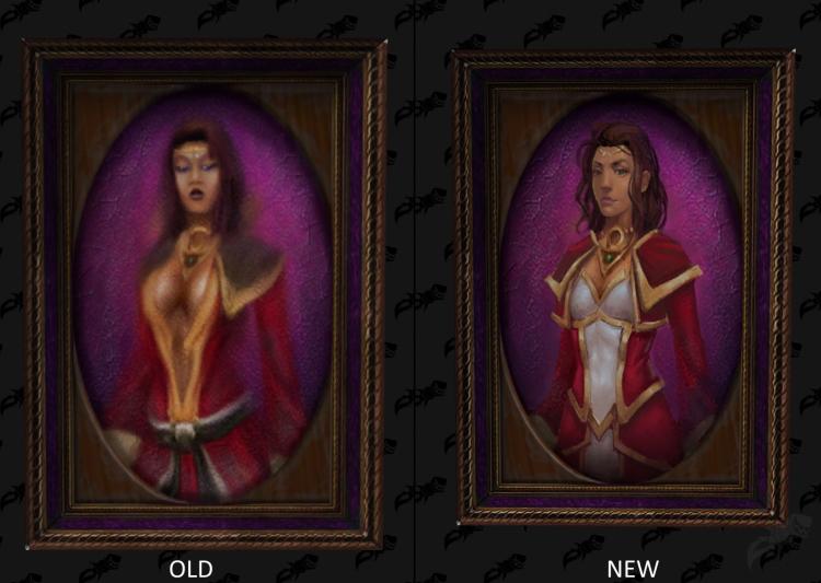 Blizzard заменила портреты эротического характера в World of Warcraft на более пристойные изображения2