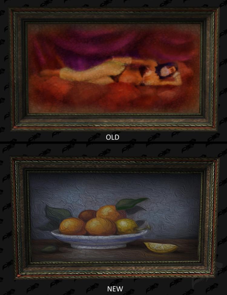Blizzard заменила портреты эротического характера в World of Warcraft на более пристойные изображения1