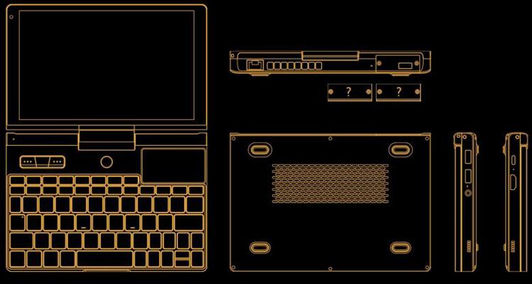 """GPD выпустит мини-ноутбук Pocket 3 с модульной секцией"""""""