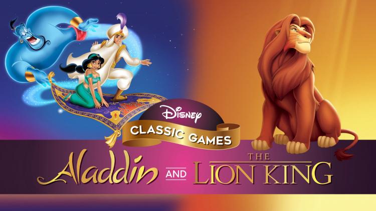 Обложка Disney Classic Games: Aladdin and The Lion King с сайта PlayStation