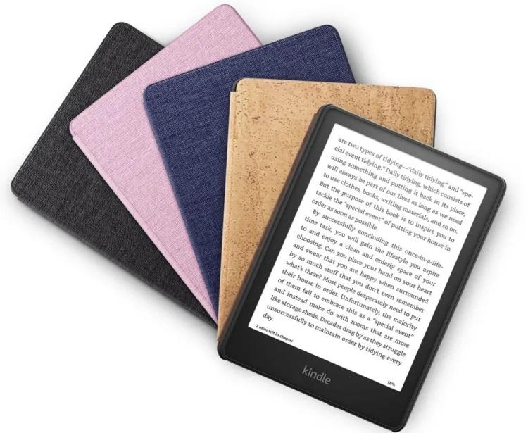 Amazon представила обновлённый ридер Kindle Paperwhite с увеличенным дисплеем и быстрой зарядкой по USB Type-C