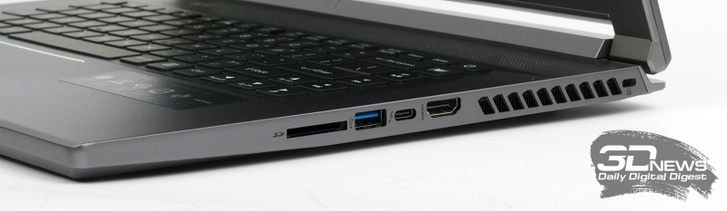 Обзор игрового ноутбука Predator Triton 500 SE от Acer: мощный, взрослый, тонкий