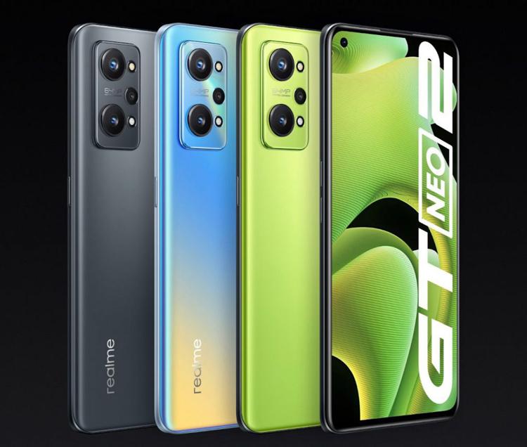 Realme представила GT Neo2  смартфон со 120-Гц экраном, чипом Snapdragon 870 и ценой от $385