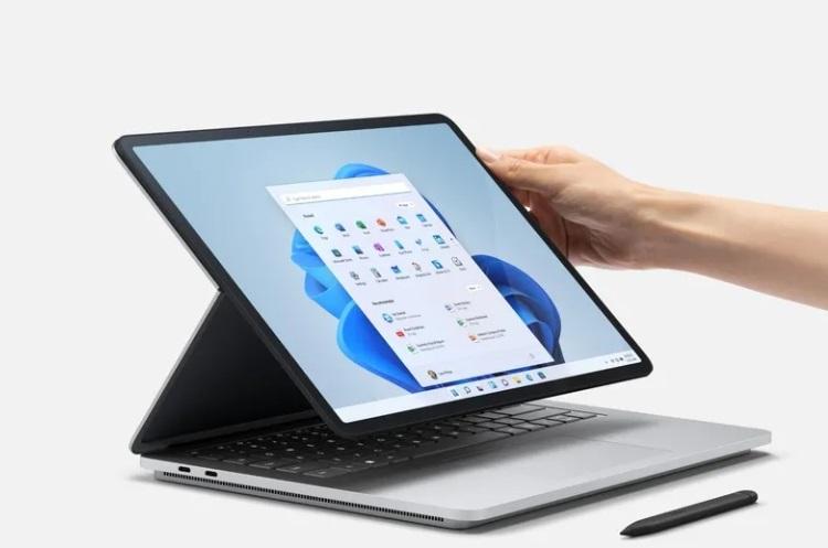"Microsoft представила Surface Laptop Studio — флагманский гибридный ноутбук с GeForce RTX и ценой от $1600"""