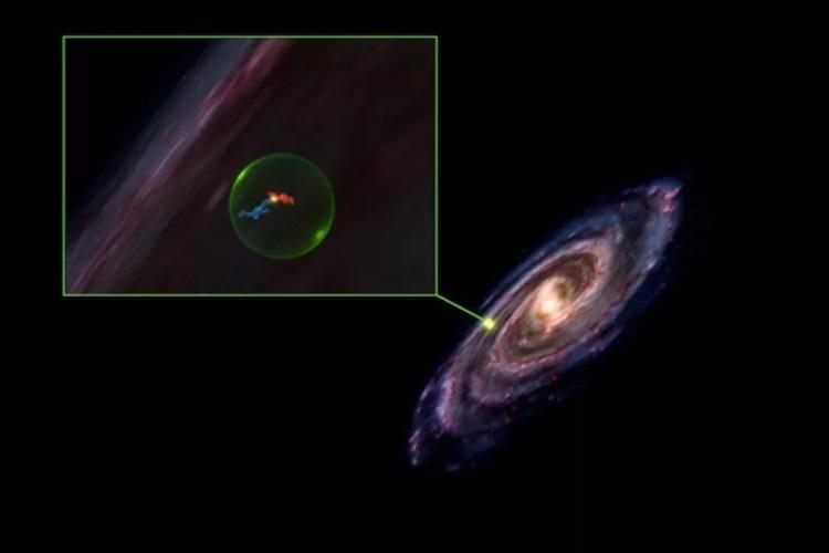 Изображение: Алисса Гудман / Гарвард-Смитсоновский центр астрофизики