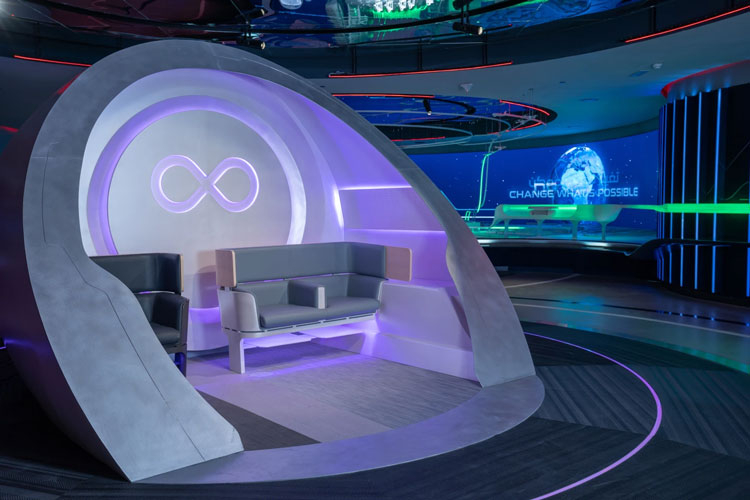 Срез пассажирской капсулы. Источник изображения: Virgin Hyperloop