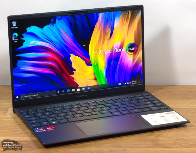 Обзор ноутбука ASUS ZenBook 13 OLED (UM325S): победное комбо