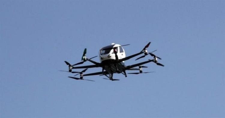 """Южная Корея начнёт коммерческое использование беспилотных аэротакси в 2025 году"""""""