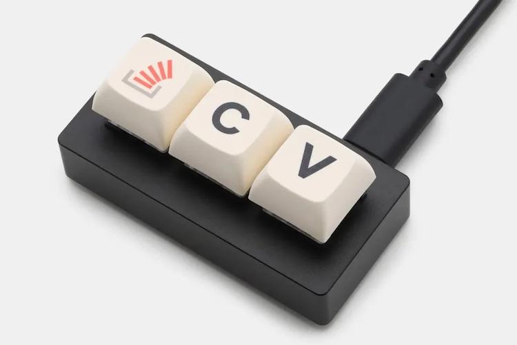 Они всё таки выпустили клавиатуру из трёх кнопок