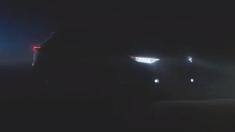 Электрический кроссовер Subaru Solterra показался на видео
