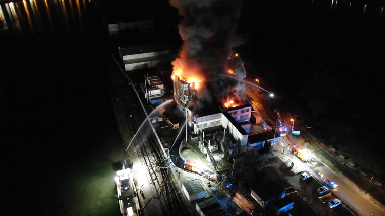 Фото: Service départemental d'incendie et de secours du Bas-Rhin - SDIS 67